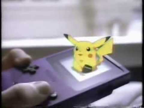 Pokemon Game Boy Link Cable Commercial feat Drake Bell