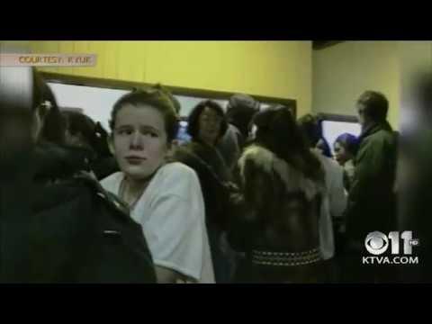 Bethel Regional High School shooting - Short video of scene
