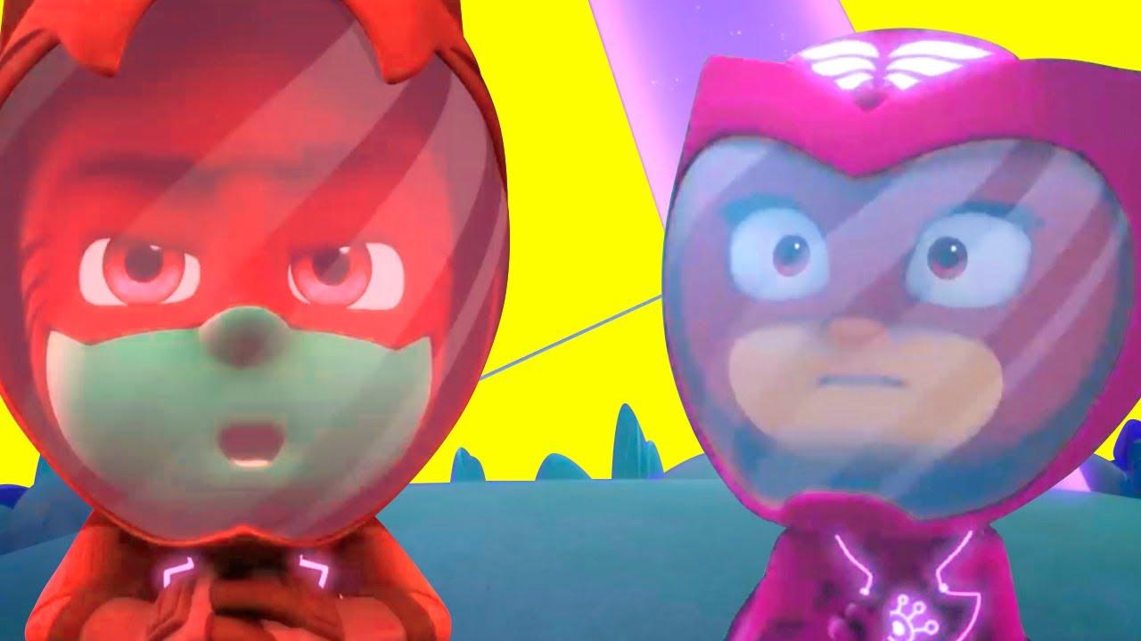Heroes en Pijamas Español 2021 - el Rayo Gigantesco Espacial - Dibujos Animados Pj Masks