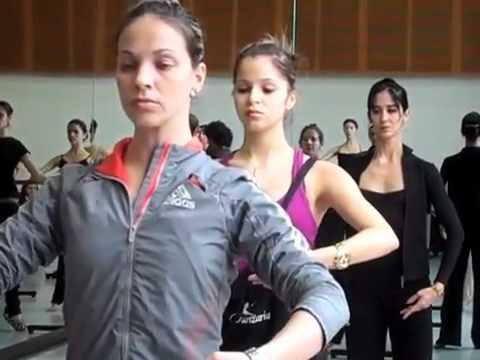 Ballet Nacional de Cuba Warming Up - IDFB 2010