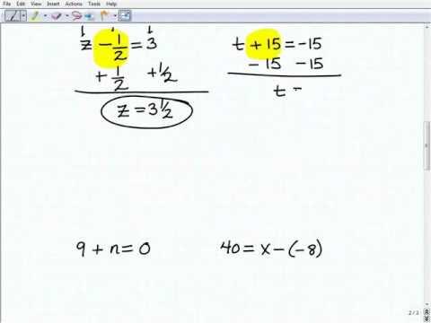 VideoText Pre-Algebra - Homeschooling - TabletClass.com