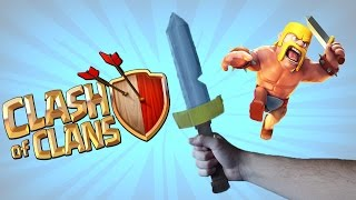 Como hacer la Espada de Clash of Clans | Barbarian Sword