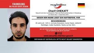 TERRORFAHNDUNG: Wo ist der Killer von Straßburg Chérif Chekatt?