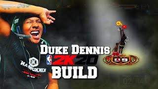 Leaking my NBA 2K20 build early! This build is a DEMIGOD! Best build 2k19! Best Jumpshot 2k19!