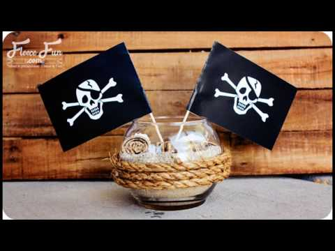 Pirate party themed decorating ideas