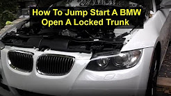 How to jump start a BMW E90, 335i, 328, etc. - VOTD