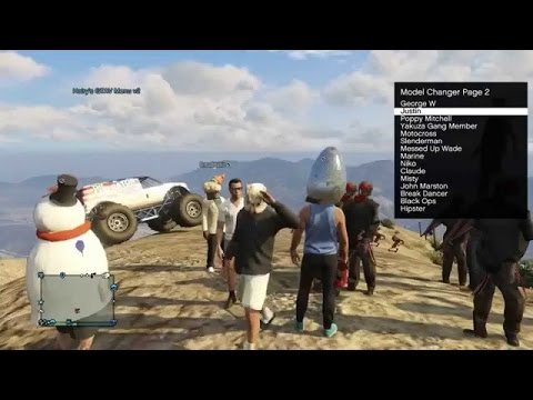 [PS3/PS4] GTA 5 Online Mods Trolling Reaction Public Lobby FREE DOWNLOAD