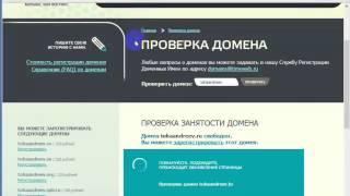 0001. Как подобрать  доменное именя- видео урок от Николая Роман