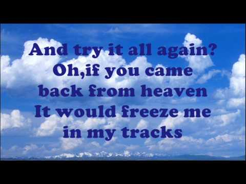 Lorrie Morgan - If You Came Back From Heaven (Lyrics On Screen)