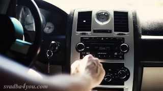 Крайслер 300C чёрный перламутр и белоснежная кожа. Это твой автомобиль на свадьбу!(ФОТО и ВИДЕОСЪЁМКА в МАКСИМАЛЬНОМ качестве. ТОЛЬКО полноформатные камеры. ТОЛЬКО профессиональные объекти..., 2015-06-30T16:13:45.000Z)