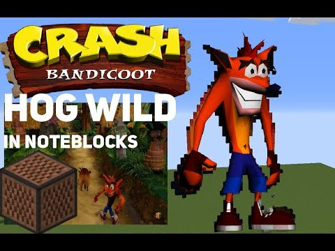 Crash bandicoot Hogwild Noteblock cover