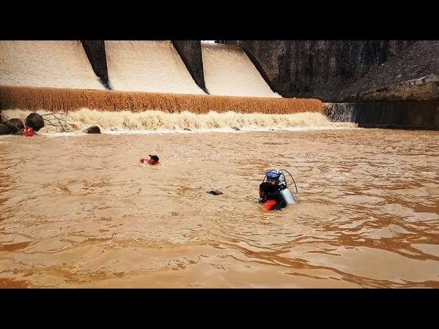 Pencarian orang tenggelam di bendungan selis majenang