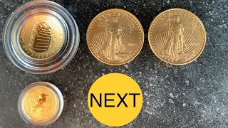 The Next BIG Thing!  Unboxing Gold Bullion for My Stack (+ Silver Too)