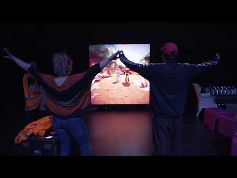 Starship Ball Interactive Wall