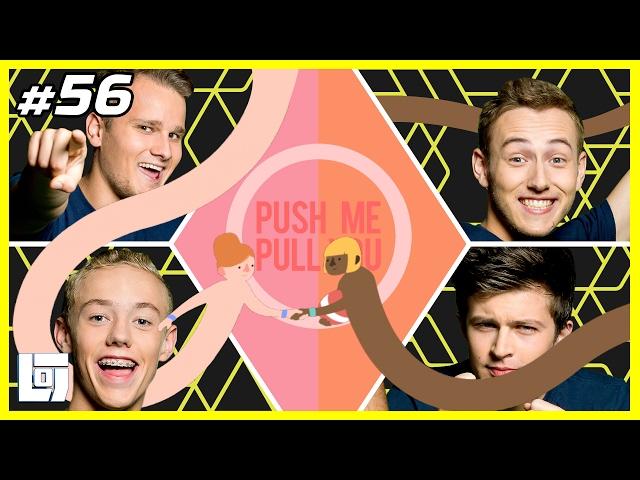 Push Me Pull You met Ronald, Jeremy, Ward en Quin | XL Battle | LOGNL #56