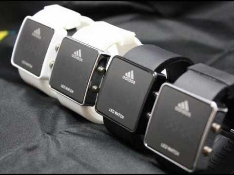 Buy adidas led watch white   OFF52% Discounted 7dc9020cab