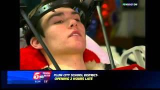 VIDEO: Jablonski Leaving Hospital