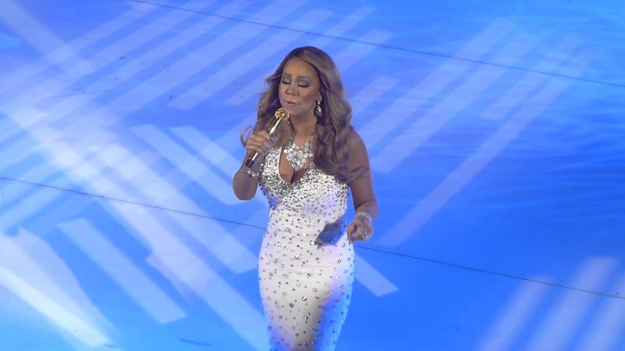 Mariah Carey - Christmas Baby Please Come Home HD @ Beacon Theatre ...