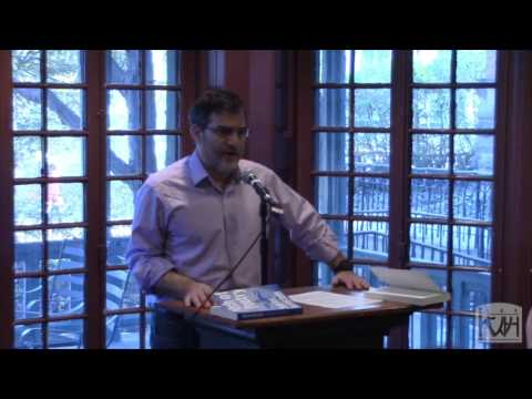 "Al Filreis introduces Charles Bernstein at the ""Pitch of Poetry"" book launch"