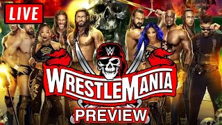 🔴 WWE WRESTLEMANIA 37 Live Stream - Full Show Preview & Predictions
