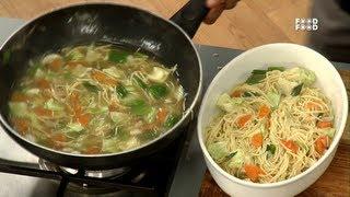 Shanghai Stewed Noodles - Sanjeev Kapoor's Kitchen