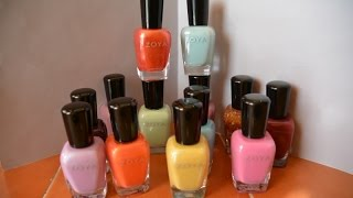 Zoya Half-Price Coupon Haul - Delight Spring 2015 Collection