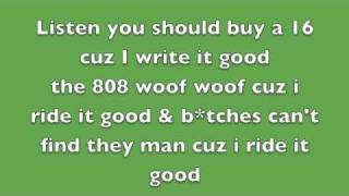 Nicki Minaj - Itty Bitty Piggy - Lyrics On Screen