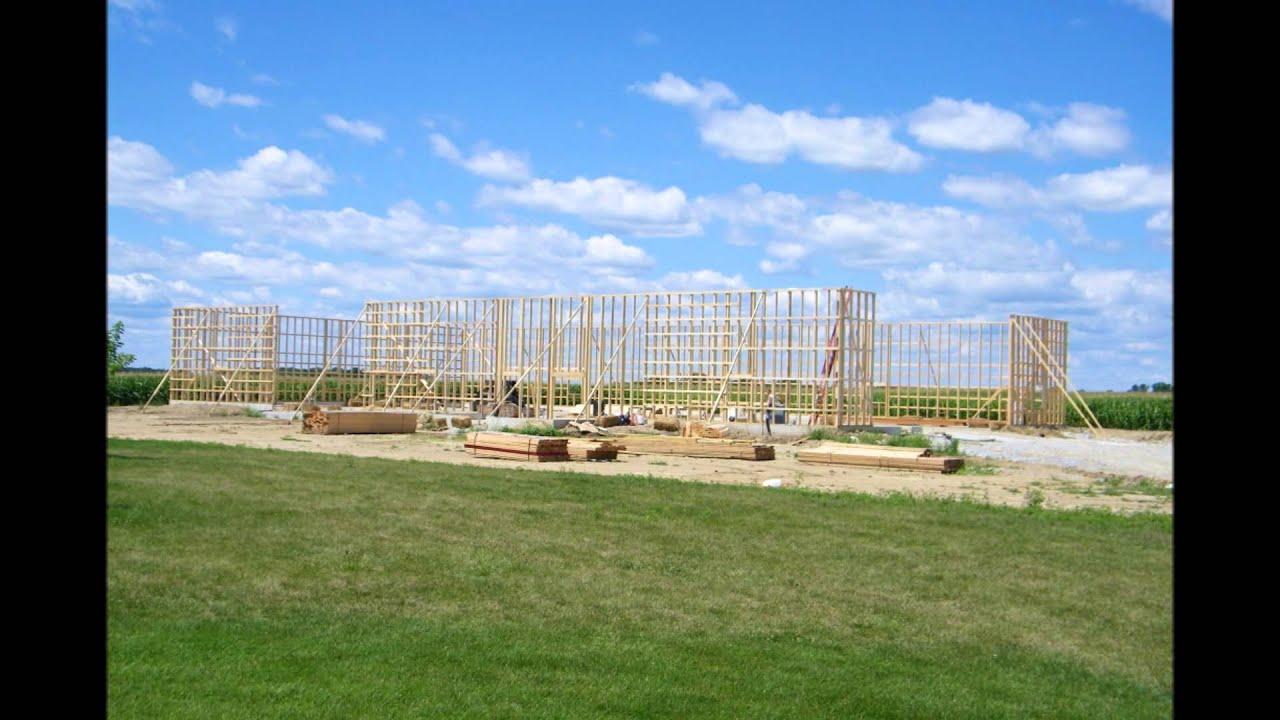 Usa pole barns machinery buildings youtube for Usa pole barns