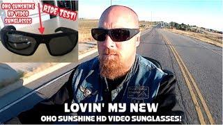 RIDE TEST - OHO SUNSHINE HD VIDEO SUNGLASSES!!