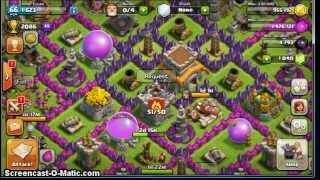 Clash of Clans - Dragon Lv2 attack