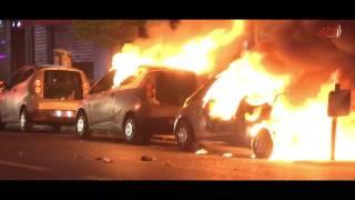 حرق السيارات عقب إعلان نتائج التصويت في باريس   صحيفة الاتحاد