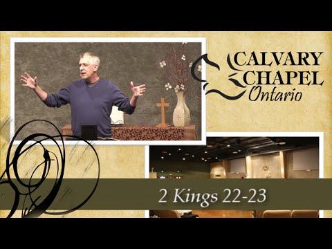 2 Kings 22-23 King Josiah