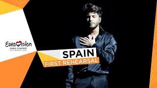 Blas Cantó - Voy A Quedarme - First Rehearsal - Spain 🇪🇸 - Eurovision 2021
