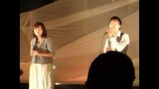 清水翔太さんと福原美穂さんがコラボしていたバージョンでカバーしまし...