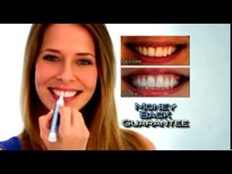 Finishing Touch Smile Tooth Whitening Pen Youtube