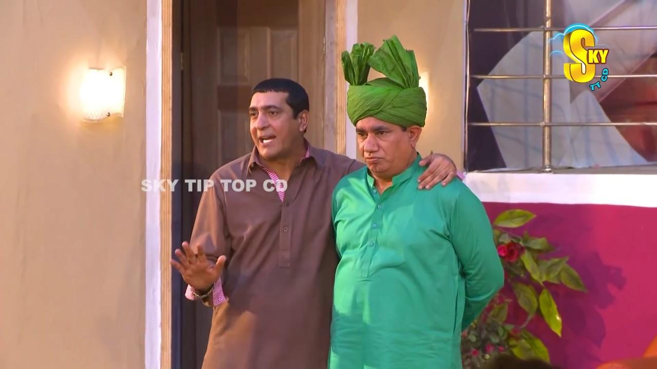 Zafri Khan and Nasir Chinyoti Stage Drama Wah Tera Joban Comedy Clip 2019