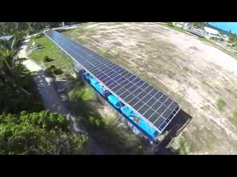 Hybrid electricity system for Tuvalu