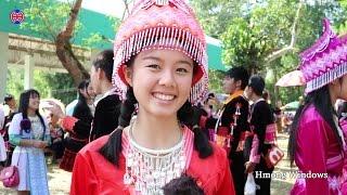 Nkauj Hmoob Khej Me / สาวม้งเข็กน้อย / Hmong New Year Celebration in Thailand