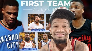 WHO REALLY DESERVED ALL NBA FIRST TEAM!? LILLARD OR WESTBROOK?