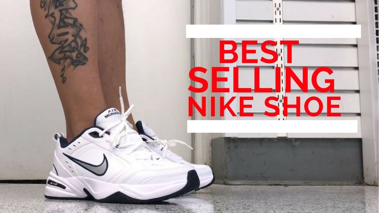 NIKE AIR MONARCH SHOES ON FEET REVIEW NIKE'S BEST SELLING SNEAKER EVER