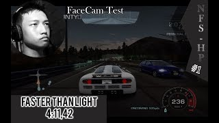 NFS: Hot Pursuit 2010 #1|Faster Than Light|FaceCam Test