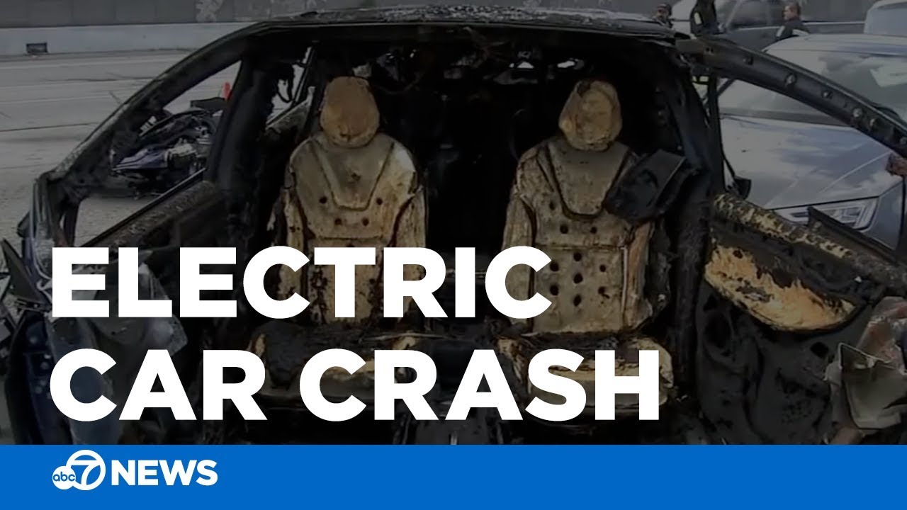 fire chief: tesla crash shows electric car fires could strain