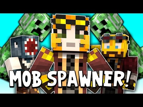 Minecraft - TIME TRAVELLERS! - STAMPY'S MOB SPAWNER! #4 W/Stamps & Ash!