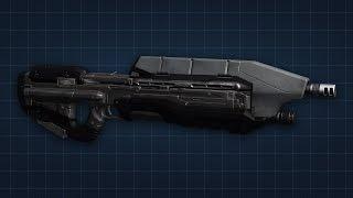 halo 3 assault rifle replica