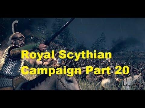 Rome II total war: Royal Scythian Campaign Walkthrough Part 20