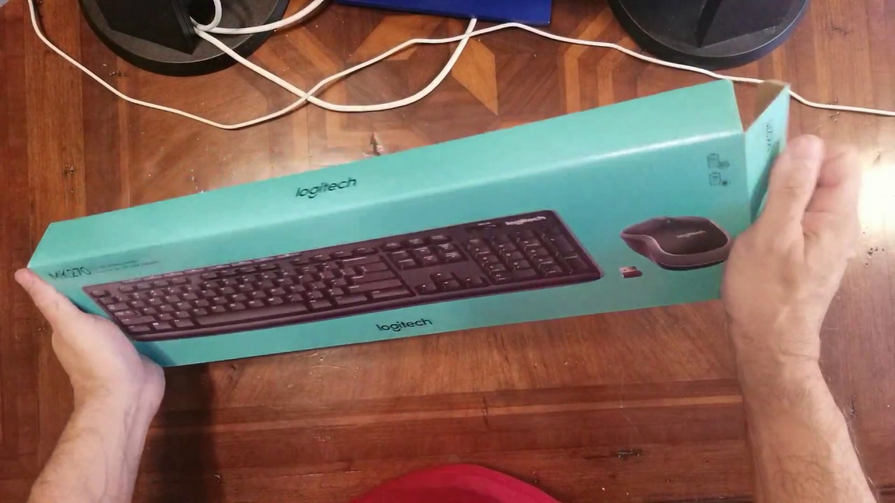 Budget Logitech MK270 Wireless Keyboard unboxing & review