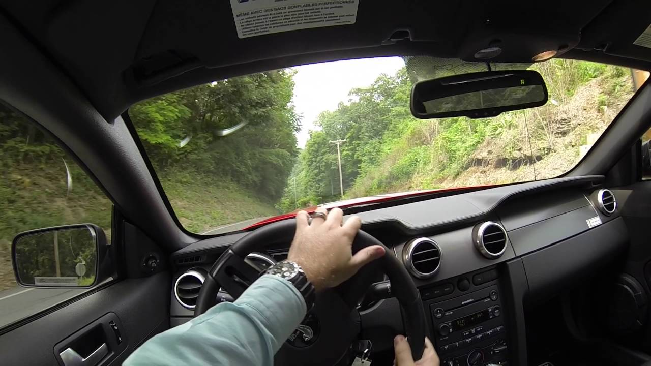 2007 ford mustang shelby gt500 pov test drive youtube