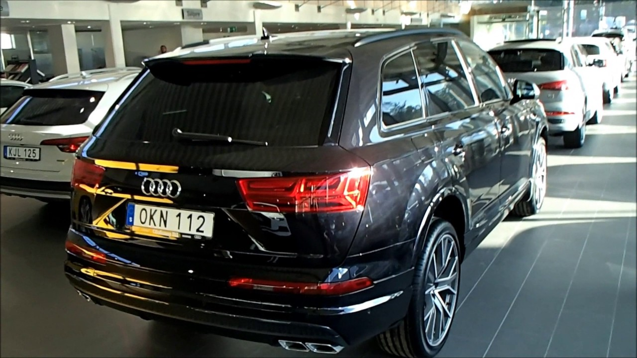 New Audi SQ7 4.0 TDI quattro tiptr (Orca black with Titan black optics and 22 inch rims ...