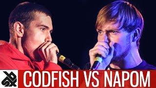 CODFISH vs NAPOM | WBC 7ToSmoke Battle | Battle 17