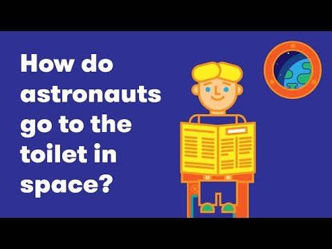 Waste In Space: How Do Astronauts Go To The Toilet?
